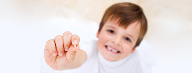 دندان شیری در کودکان